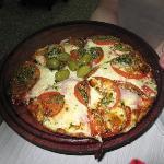 Pizza clásica y deliciosa
