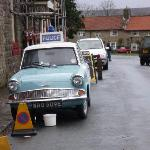 Our Car and Mugrave From Heartbeat Post office