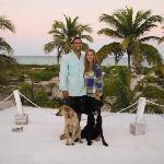 Jesse and Chelsea with Duke and Reiley