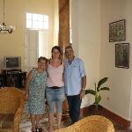 Señora Aurora, Señor Julio and me