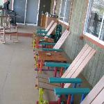 porch handmade chairs