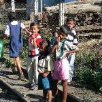 Kids love railways everywhere!