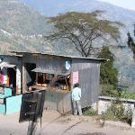 Shops by the roadside