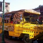 Our Duck Boats depart at Station Square