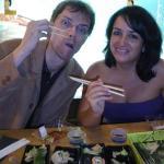 Mi primera cena en un japonés, Zurich 21.09.09