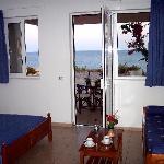 2-3 person sea view studio (ground level)