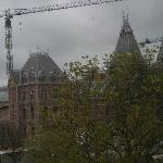 Out our window looking at The Rijksmuseum