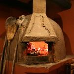 the wood burning oven