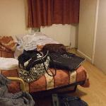 Our room (scuse the stuff)