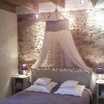 chambre raffinée et romantique