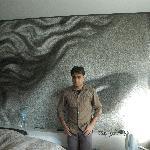 Rooms got an artistic touch