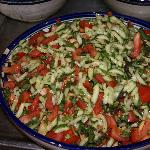 Wonderful Middle Eastern salads