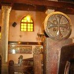 interno di una chiesa copta