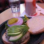 Avacado Burger $12.25 - Cheese $1 extra