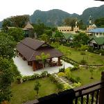 View of Andaman grounds from our balcony