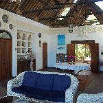 Open living room overlooking the sea