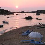 Sunset, Stoupa, The Mani, Greek mainland