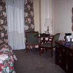 Our room at the Arlington Hotel
