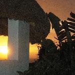 "The ""Palapa"" at sunset"