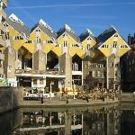 Cube-houses Rotterdam (Old harbour)