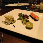 Alaska crab meat salad