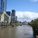 Yarra River between CBD and National Gallery of Victoria