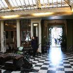 Hotel lobby / sitting room