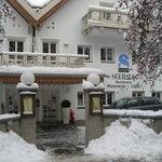 L'ingresso dell'hotel Seehaus