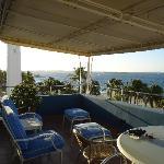 Color de Verano view from balcony