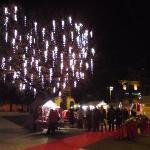 Mercatino di Natale a Rieti, piazza Oberdan