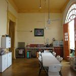 fully equipped self catering kitchen