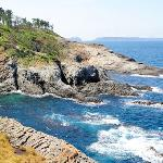 天気がいい日の海の色は最高!