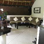 our open air lounge room - we spent a lot of time out here reading and eating afternoon tea (com