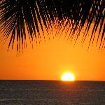 Sunset every evening