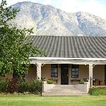THe Lodge, nestled at the foot of the Swartberg