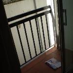 Our ... ahem 'balcony'