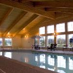 Indoor pool, sauna and hot tub.  Open from 7am until midnight daily.