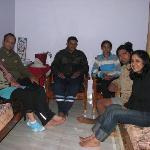 Group pic (me & archana, Suju & his wife, Dev & Ritika)