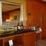 Concierge Floor Wine Offerings