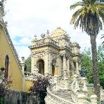 palace downtown Santiago in the Santa Lucia area (22937429)