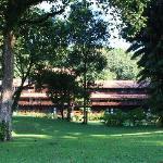 un des parcs du village