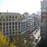 panorama dalla camera (num 816, ottavo piano)