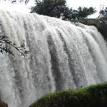 Elephant Falls about an hour West of Dalat on a scooter