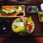 日本食の朝食