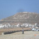 Promenade am Stand von Agadir