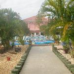 pool, shuffleboard, groomed gardens...