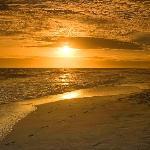 Golden Beach Sunset