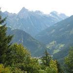 View from the Gaestehaus Bergland