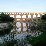 Pont du Gard near Uzés