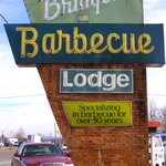 Bridges BBQ in Shelby--now for over 60 YEARS!
